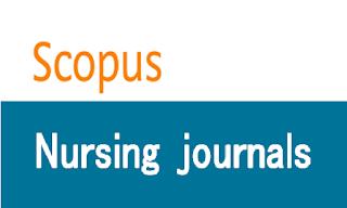Nursing journals indexed in scopus