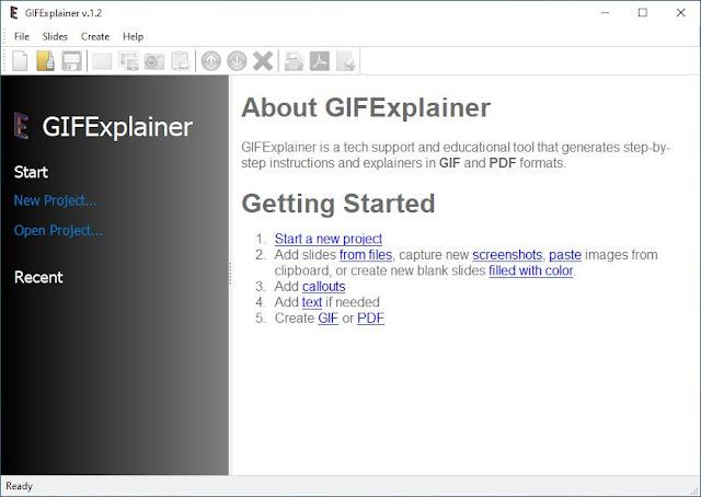 Screenshot GIF Explainer 1.2 Full Version