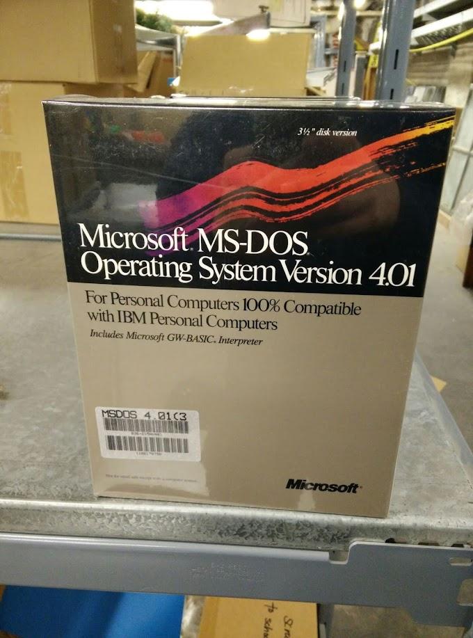 MS-DOS 4.01