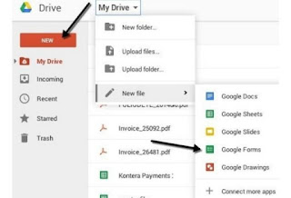 Cara bust Google Formulir