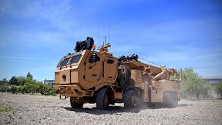 صنع في تركيا.. مركبة عسكرية لوجستية فائقة التطور (فيديو)