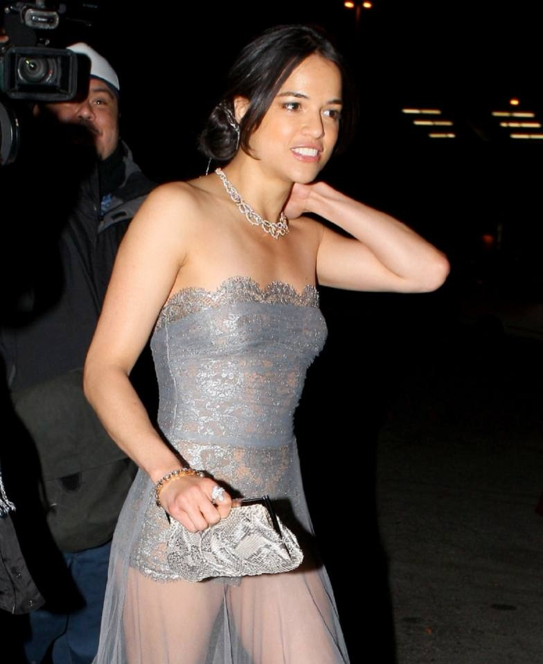 Hollywood Actresses Michelle Rodriguez Hot Unseen Stills -1702