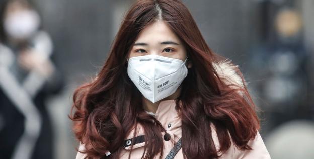 Coronavirus: N95 respirator face mask