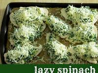 Lazy Spinach Artichoke Chicken Breasts Recipe