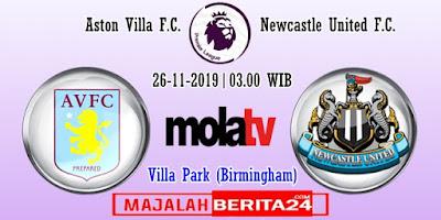 Prediksi Aston Villa vs Newcastle United — 24 November 2019