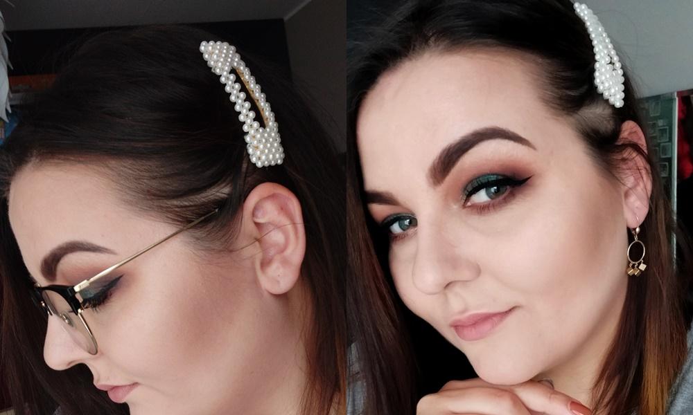 Spinki do włosów z perełkami - aliexpress