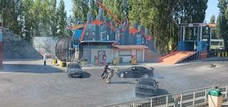Espectáculo Hotwheels de Mirabilandia.
