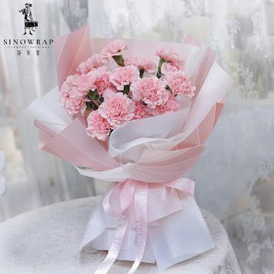 Kertas Buket Bunga / Flower Bouquet Wrapping Paper (Seri HX-027 / HX Kipas)