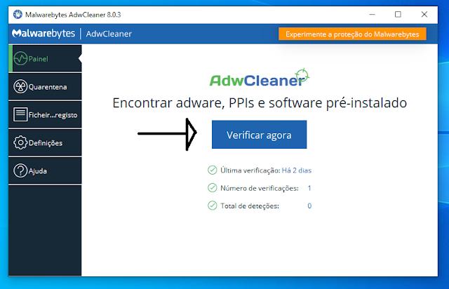 Malwarebytes AdwCleaner -  A ferramenta que remove programas indesejados