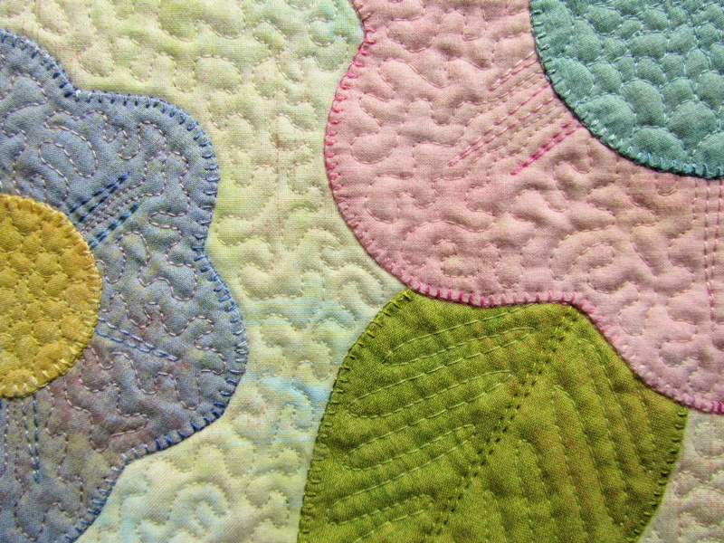 The silly boodilly flower power applique
