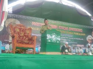 NU Pamekasan Gelar MUSKER di PP. Miftahul Ulum Banyuayu