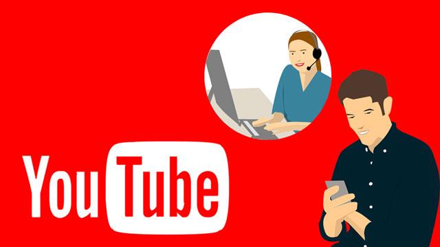 كيف مراسلة دعم اليوتيوب لمنشئ المحتوي