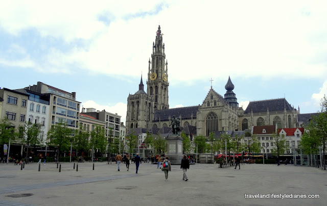 A Day Trip to Antwerp, Belgium