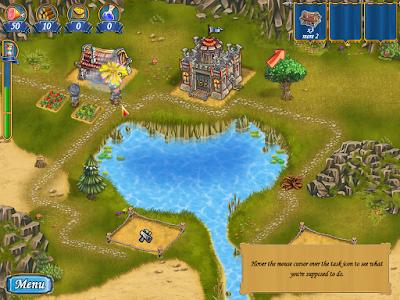 亞瑟王的木工坊(New Yankee in King Arthur's Court),特別又可愛的任務型建造闖關遊戲!