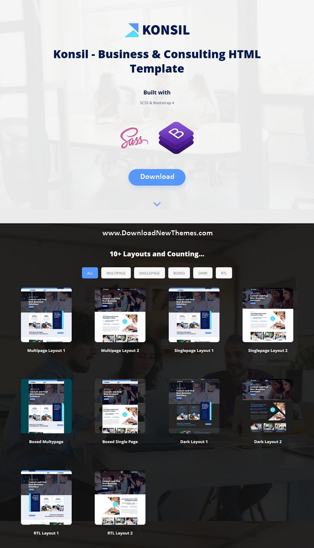 Business & Consulting HTML Template