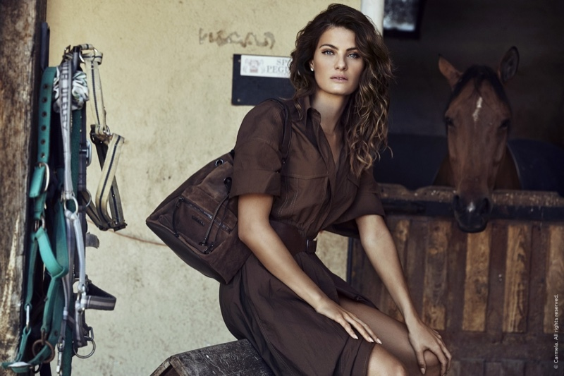 Isabeli Fontana stars in Carmela Shoes fall-winter 2019 campaign
