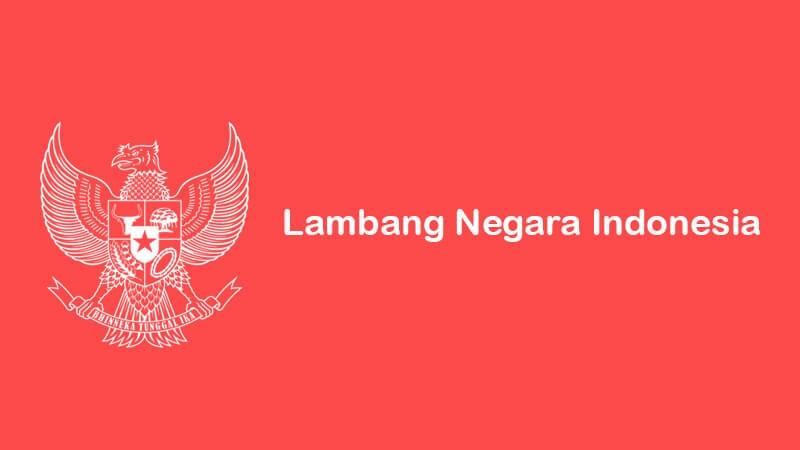 lambang negara republik indonesia lengkap dengan gambar dan penjelasannya
