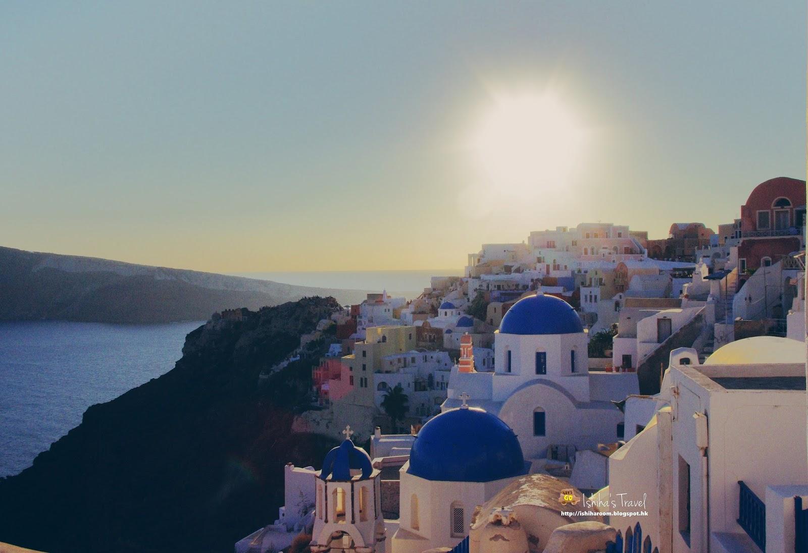 [希臘‧愛琴海] Santorini 聖托里尼自駕遊: Oia日落之旅 | Welcome to Ishiha Wanderlust