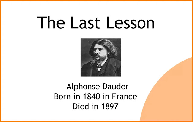 The Last Lesson Summary & Difficult Meaning of Class 12