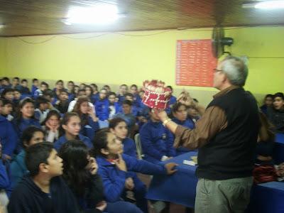 Ichoalay, Visitas 2015, Escuelas, Charlas