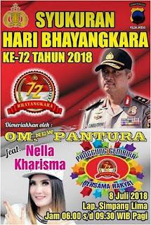 panggung gembira bersama rakyat, Om New PANTURA feat Nella Kharisma