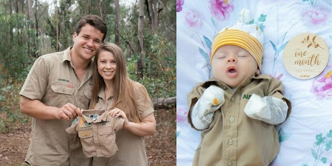 Steve Irwin's Daughter Gifts Her Baby Girl Her First Khakis