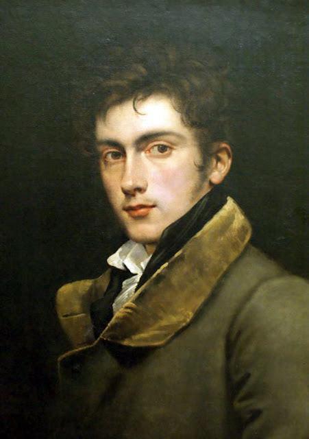 Carl Joseph Begas, Self Portrait, Portraits of Painters, Joseph Begas, Fine arts, Portraits of painters blog, Paintings of Carl Joseph Begas, Painter  Carl Joseph Begas