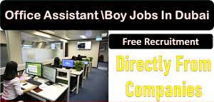 Office Assistant/Office Girl and Office BoyJobs Recruitments in Dubai