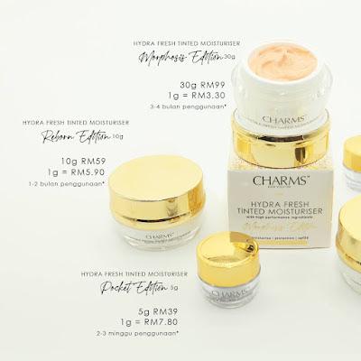 CHARMS Cosmetic Skincare Lancar Morphosis 2021
