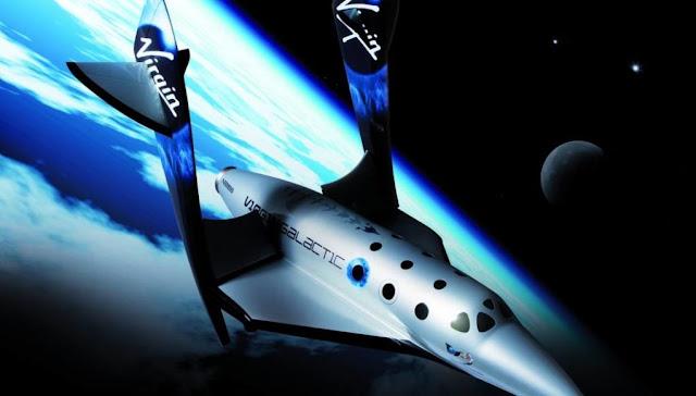Vuelos suborbitales turistas Virgin Galactic