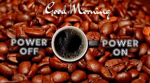 power off coffee power on