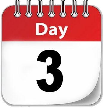 Jangan Lebih 3 Hari!