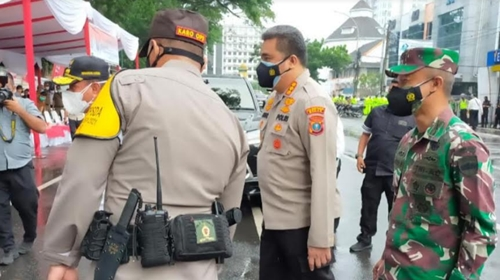Kodam I/BB Siap Penerapan PPKM Darurat Di Medan