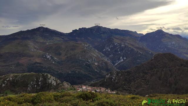 Vista del Aramo desde el Plantón
