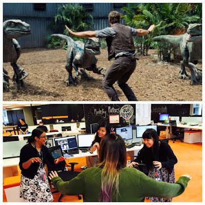 jurassic world re-enactment