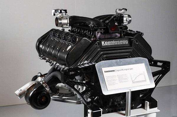 Motor Koenigsegg Agera RSR