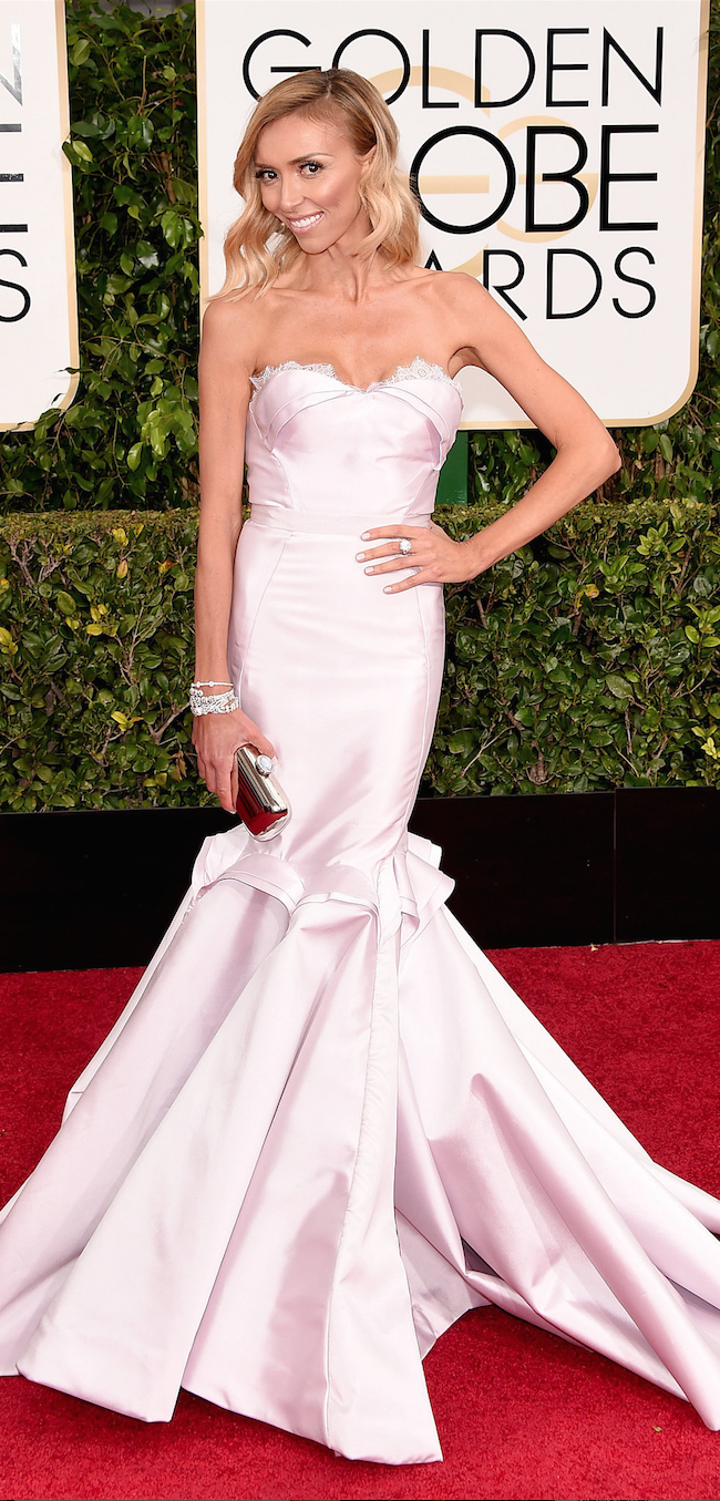 Guiliana Rancic 2015 Golden Globe Awards