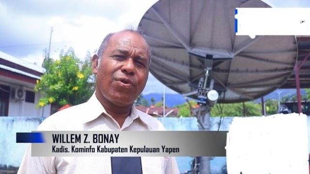 Kominfo Yapen: Masyarakat harus lindungi kerja Wartawan agar dapat informasi yang Akurat,mendidik dan membangun