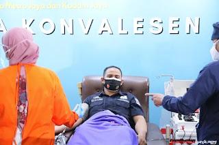 Polri Donor Plasma, Kegiatan Sosial teladan Bagi Lembaga dan Institusi yang lain