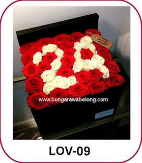 Pesan Mawar 100 Tangkai Untuk Buket Bunga Valentine