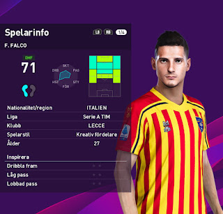 PES 2020 Faces Filipo Falco by Emilang
