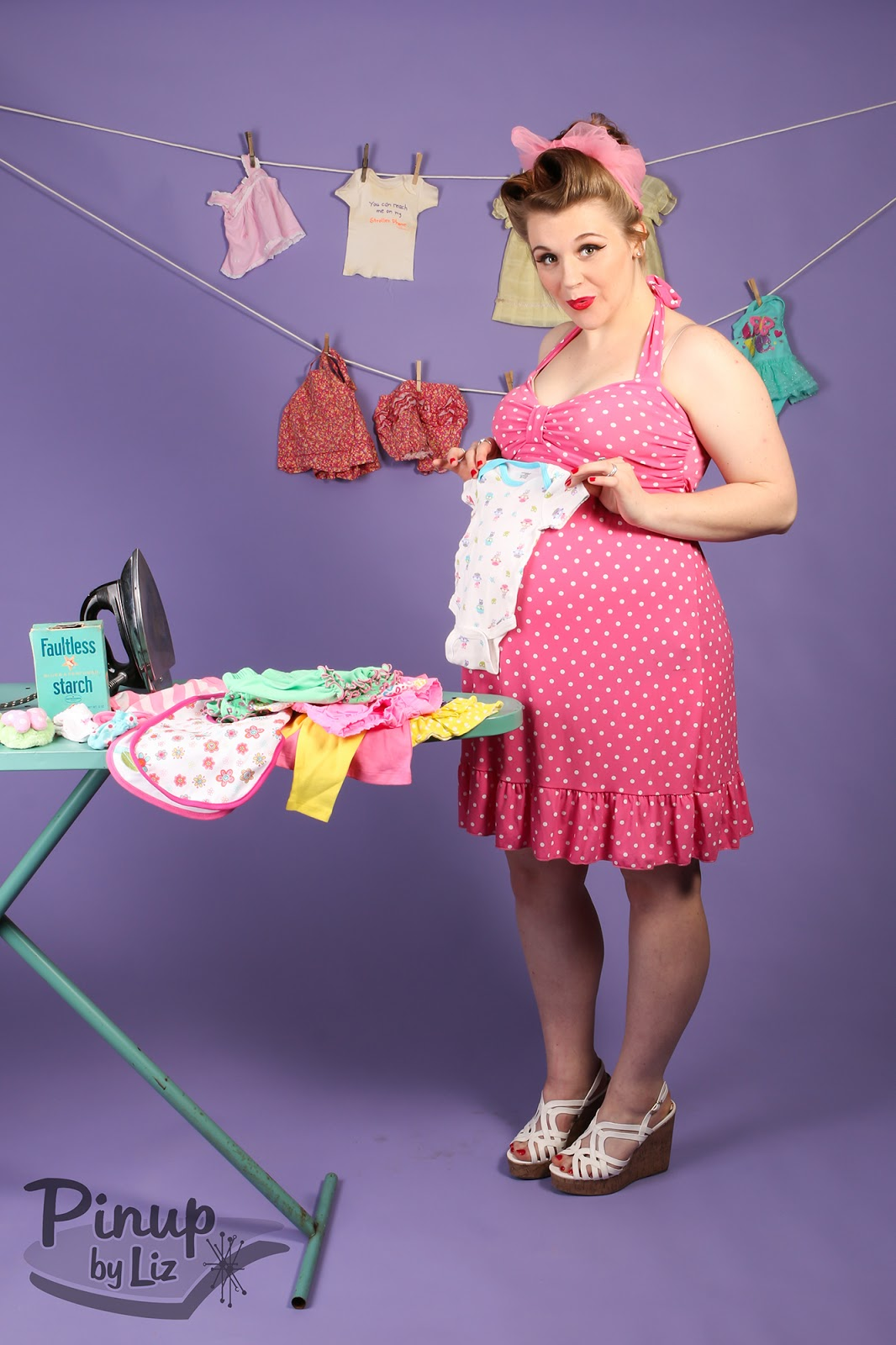 Pinup by liz session spotlight pin up maternity photo shoot ombrellifo Images