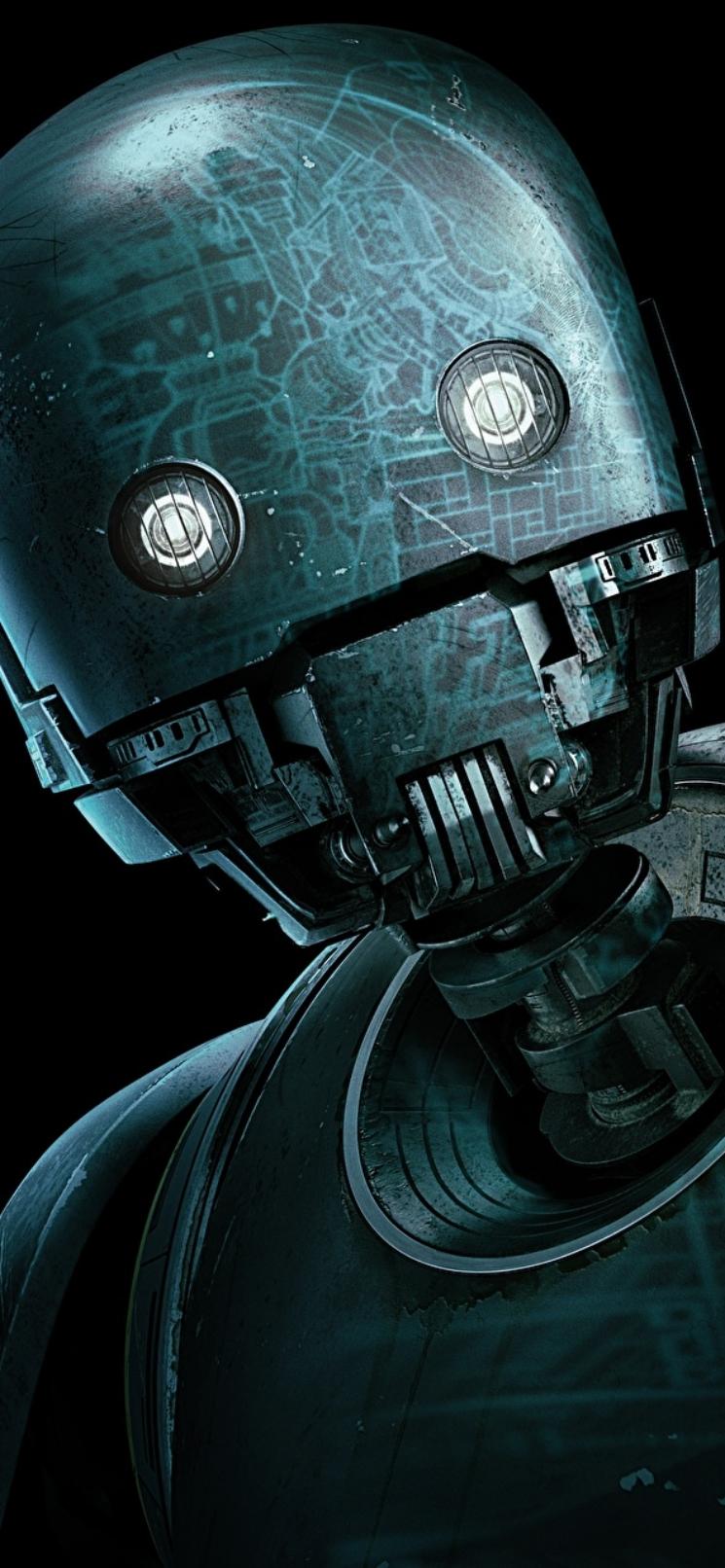 star wars rogue one robot wallpaper iphone