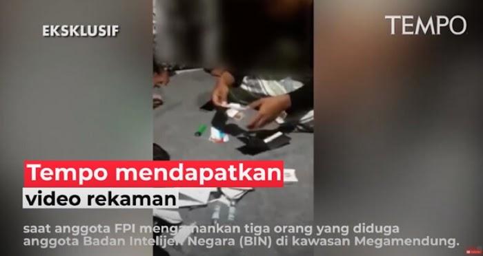Beredar Video Amankan 3 Orang Diduga Anggota BIN di Megamendung, Ini Tanggapan FP1