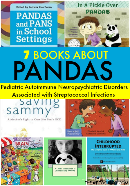 Books on PANDAS and PANS for kids, parents, teachers, and therapists