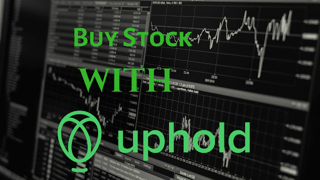 Now Buy Stocks with Uphold😊