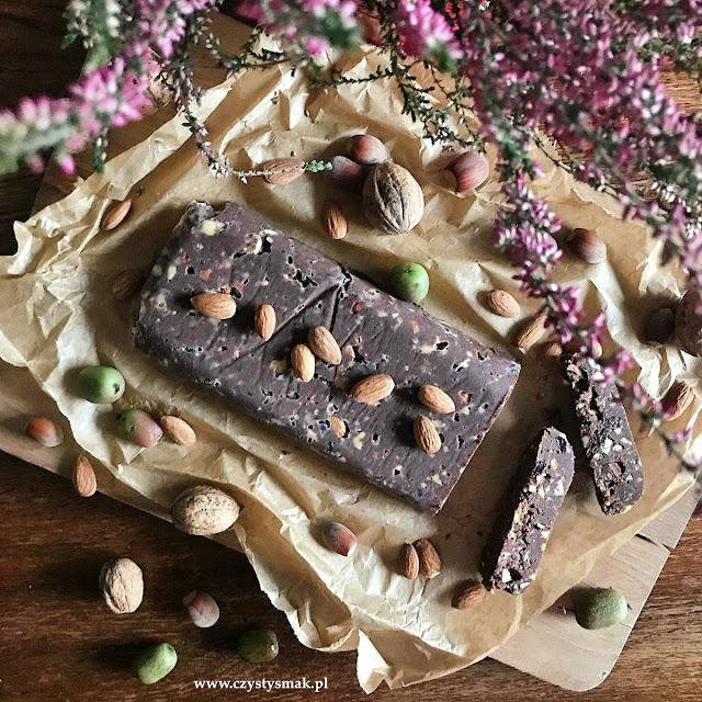 Bezglutenowy blok czekoladowy