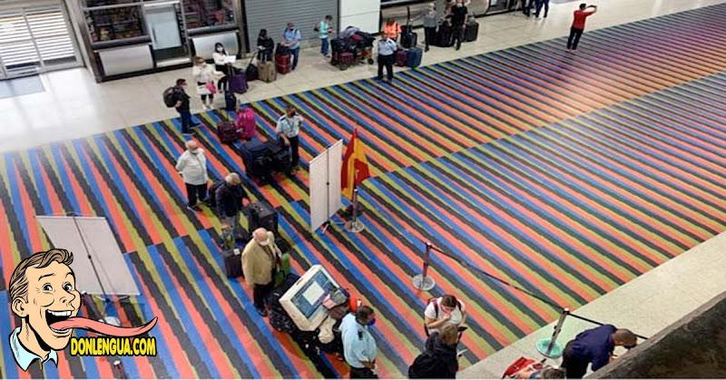 Logró salir de Maiquetía el cuarto vuelo de europeos que huyen de Venezuela
