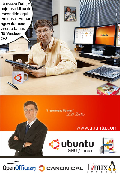 bill gates usa ubuntu