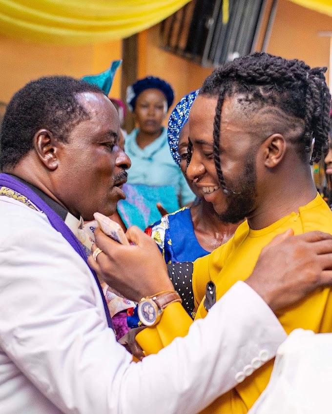 Father's Day; DJ Kaywise Celebrates His Father - PHOTOS